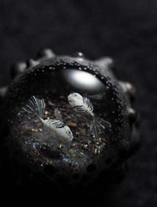 新作:骨魚の石と雫