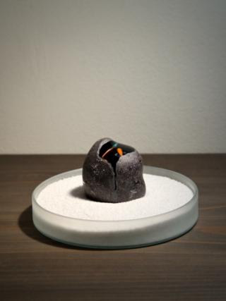 新作「魚石ノ水石」